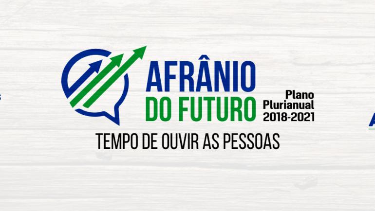 Prefeitura realiza plenárias para elaboração do PPA
